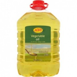 Pure Vegetable Oil 5 Liter
