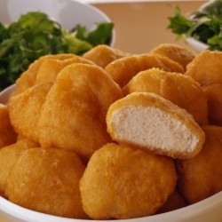 battered chicken nuggets 850g