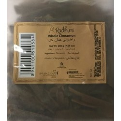 Radhuni Cinnamon whole 200g